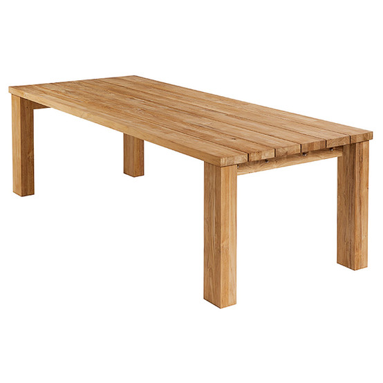 Titan 94.5 Inch Teak Table