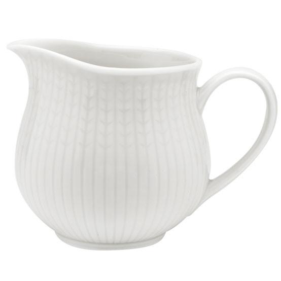 Swedish Grace Milk Jar 16Oz Snow
