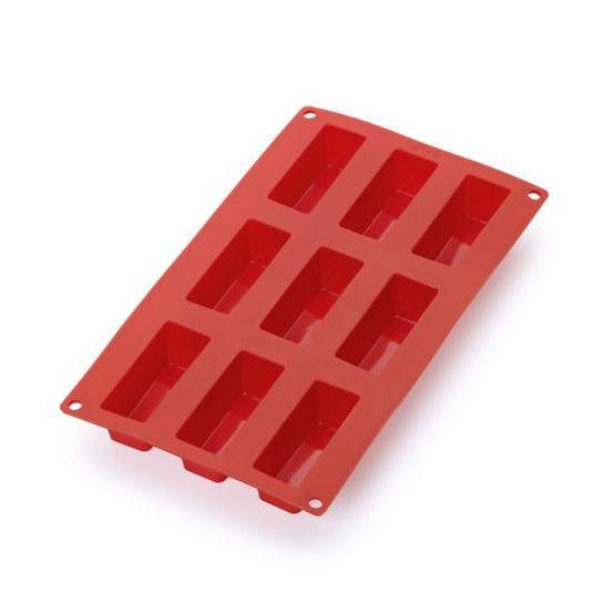 Mini Cake Red 9 Cavity