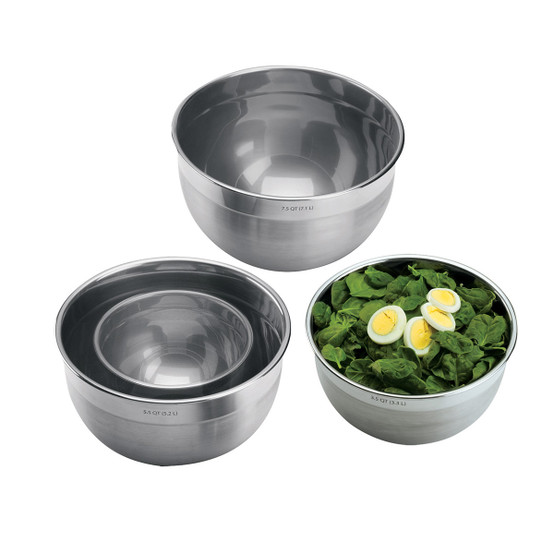 3.5qt Stainless Steel Mixing Bowl