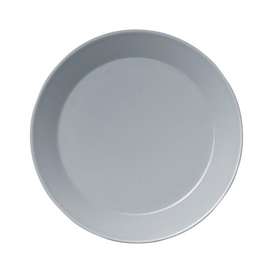 Teema Salad Plate in Pearl Grey