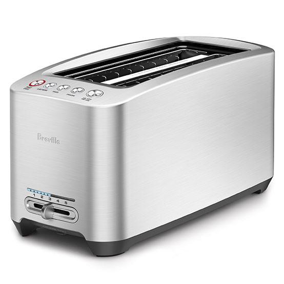 Die-Cast Long Slot Smart Toaster