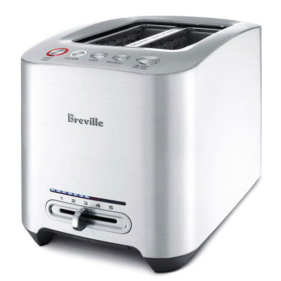 Die-Cast 2-Slice Smart Toaster