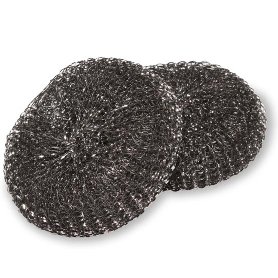 Replacement Heads Stainless Grill Scrubber / set of 2