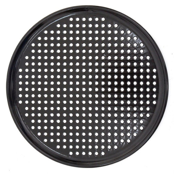 Round Perforated Porcelain Grid 13 in