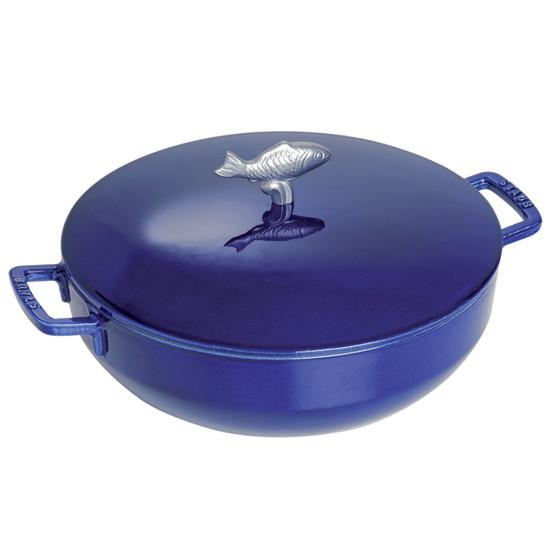 Bouillabaisse Pot 5 Quart - Dark Blue