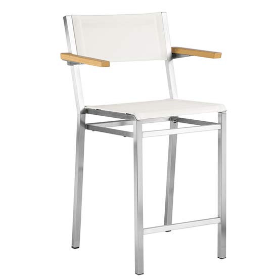 Equinox Counter Height Carver Chair