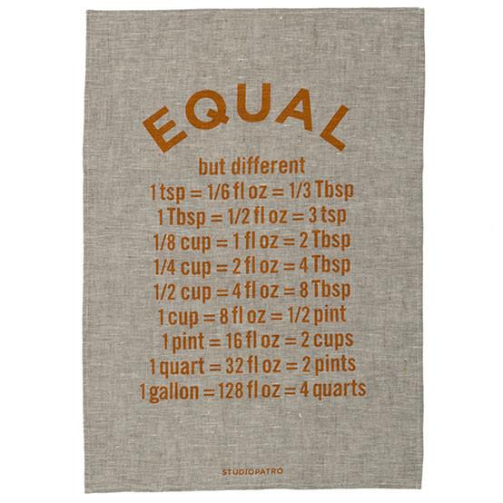 Equal Tea Towel