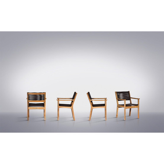 Monterey Teak Armchair in Brown