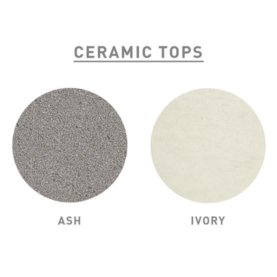 """Equinox Ceramic Top Table 39"""" x 118"""""""