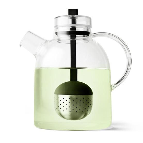 Kettle Teapot, glass w. Tea Egg