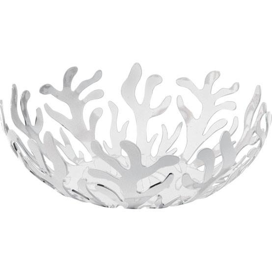 Mediterraneo Medium Fruit Bowl in White