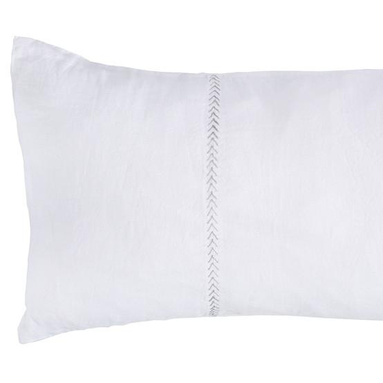 Heritage Pillow Sham Arrow Stitch