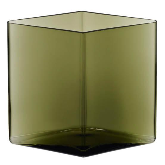 Ruutu vase 8 in x7 in