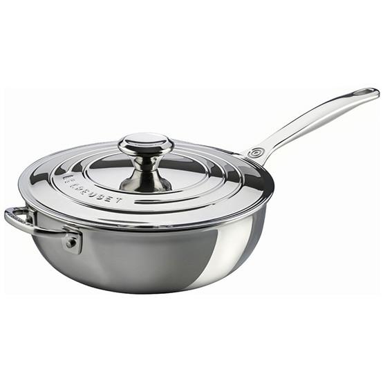 3 1/2 qt. Saucier Pan with Lid