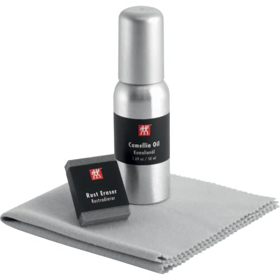Carbon Steel Use & Care Kit