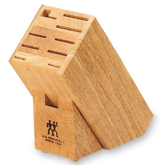 10-Slot Hardwood Knife Block