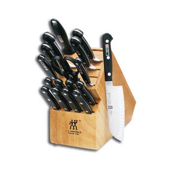 Pro S 18-pc Knife Block Set