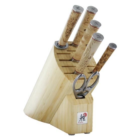 Birchwood SG2 7 Piece Knife Block Set