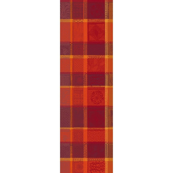 Mille Wax Ketchup Table Runner 22 x 71