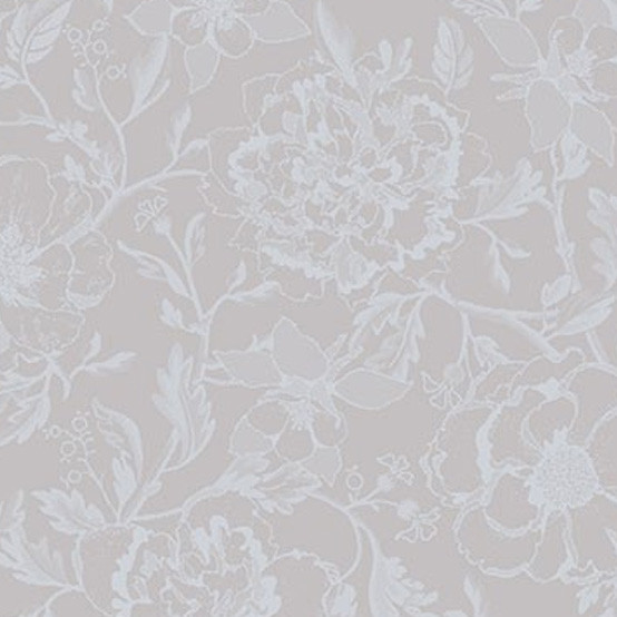 Mille Charmes Coated Fabric in Nacre (Price/Inch)