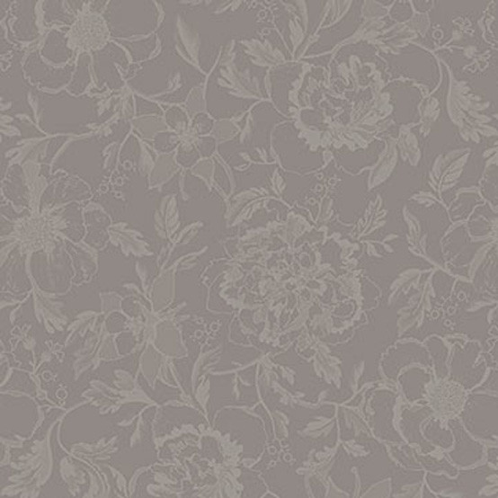 Mille Charmes Coated Fabric in Taupe (Price/Inch)