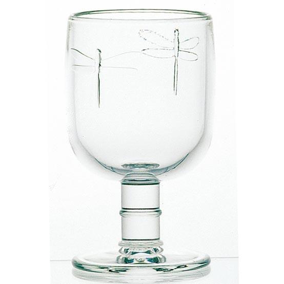 Dragonfly Wine Glass