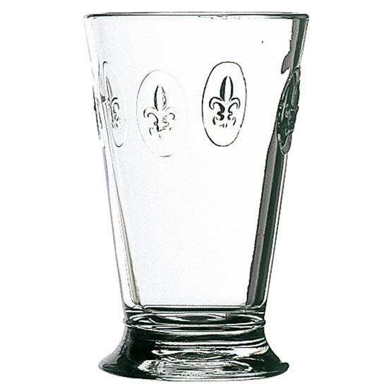 Fleur de Lys Ice Tea Glass