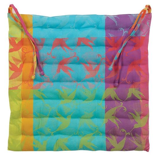 Mille Colibris Antilles Chair Cushions 15 x 15