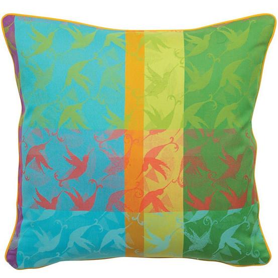 Mille Colibris Antilles Cushion Cover 20'' x 20''