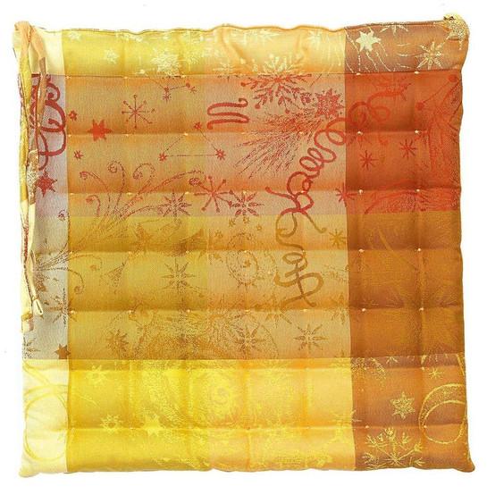 Mille Couleurs Soleil Chair Cushion 15 x 15
