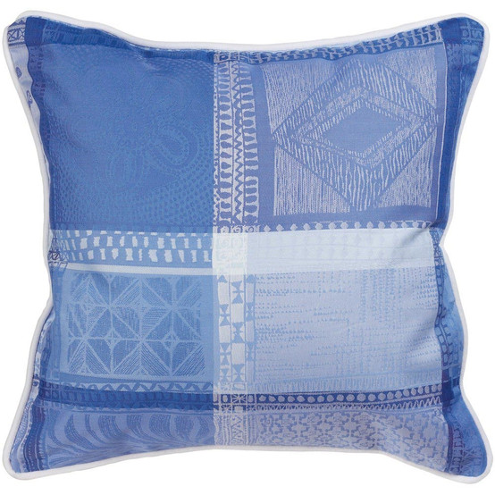 Mille Wax Ocean Cushion Cover 16'' x 16''