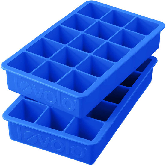 Perfect Cube Ice Tray Set of Two - Capri Blue