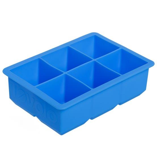 King Cube Ice Tray - Capri Blue