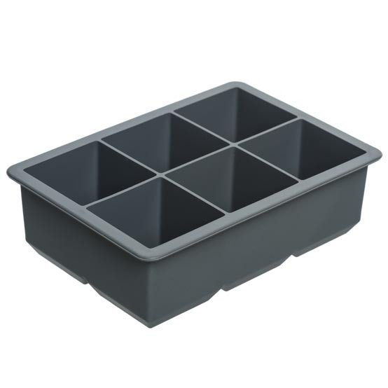 King Cube Ice Tray - Charcoal