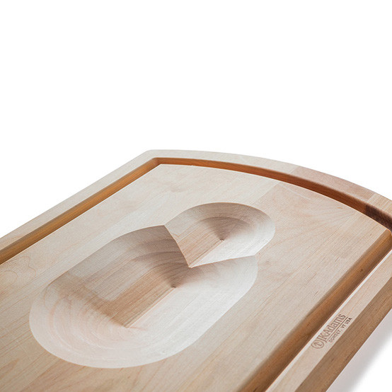 Maple Reversible Carving Board, 20 x 14