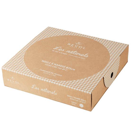 Giftbox Round Cake Pan Creamy