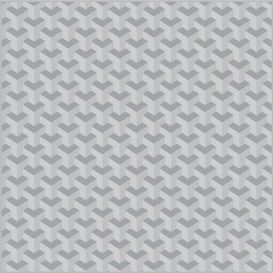 Mille Epsilon Coated Fabric in Silver (Price/Inch)