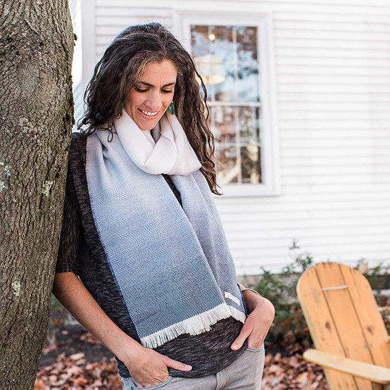 Wool Ombre Scarf