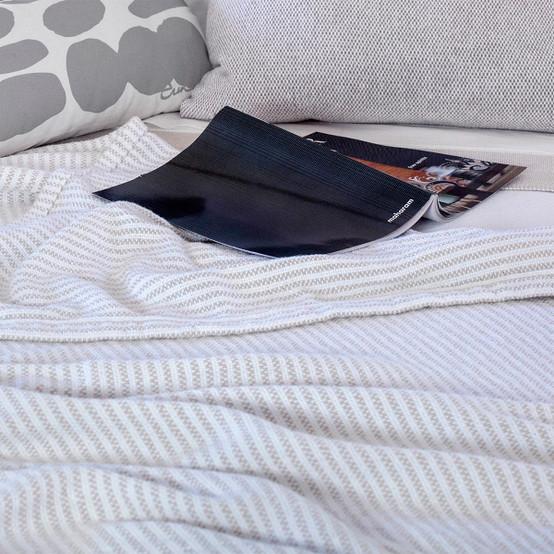 Winslow Cotton Blanket on White