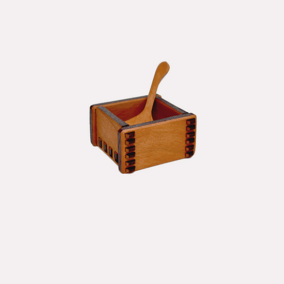 Salt Box and Paddle
