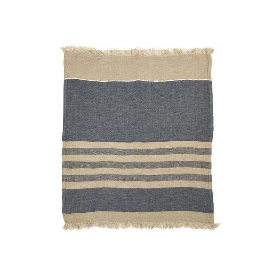 The Belgian Towel Guest Towel in Desert Stripe