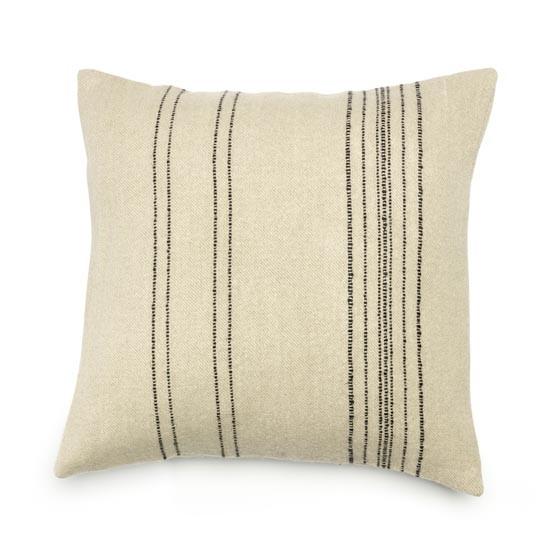 """Moroccan Stripe Pillow Cover 20x20"""" Stripe"""