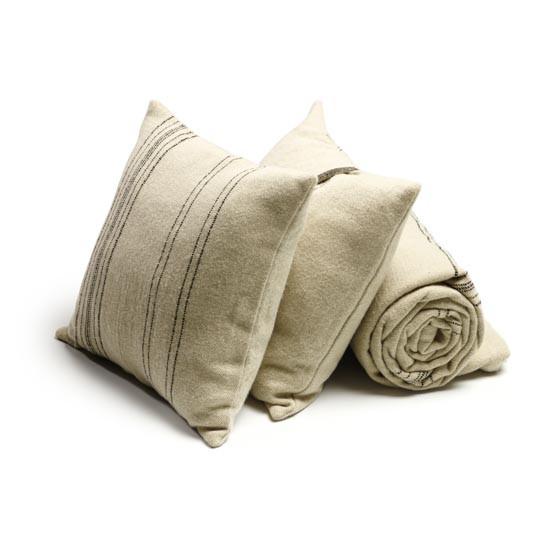 """Moroccan Stripe Pillow Cover 25x25"""" Stripe"""