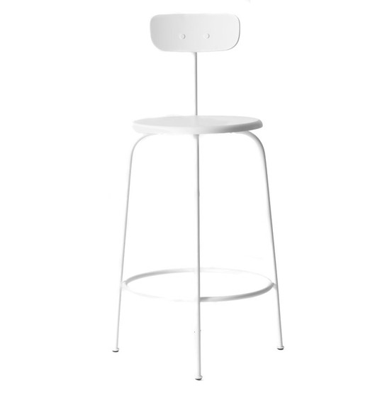 Afteroom Counter Stool, White