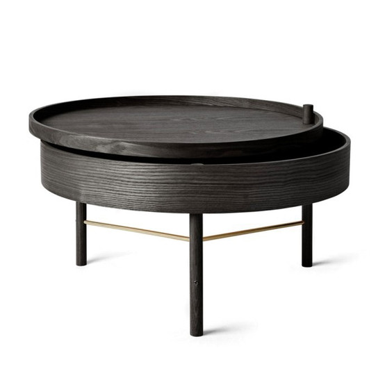 Turning Table, Black Ash