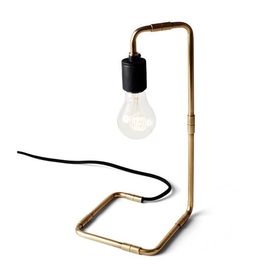 Reade Table Lamp, Brass