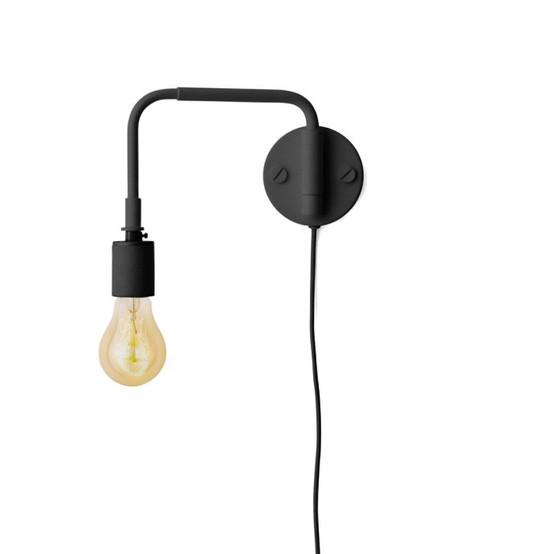 Staple Lamp, Black