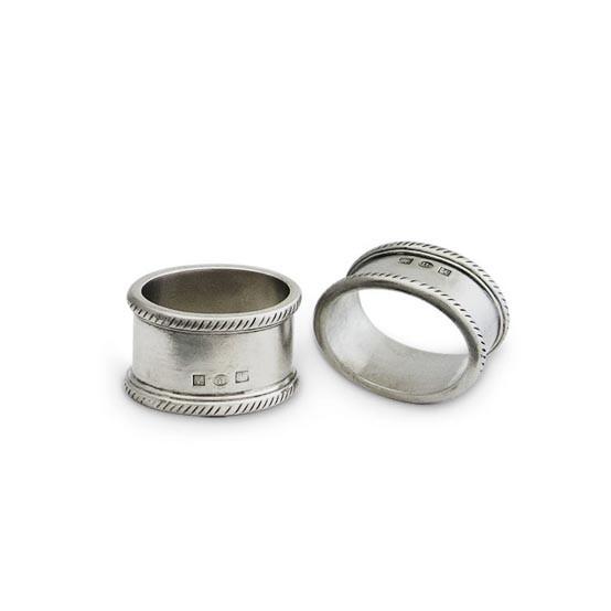 Luisa Oval Napkin Ring Pair