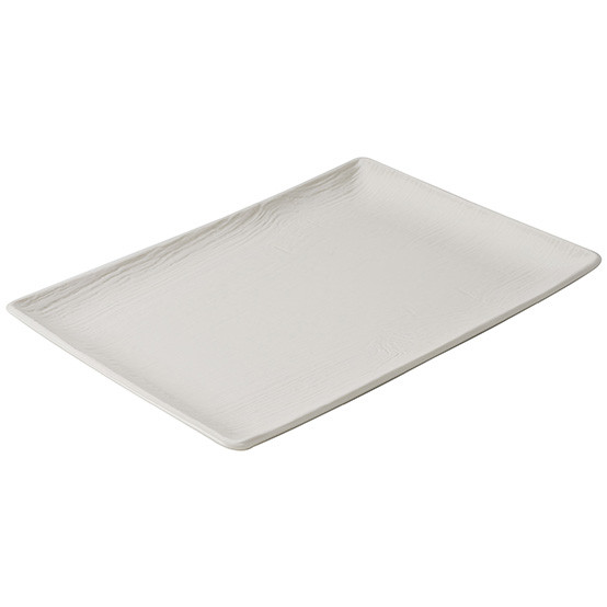 Arborescence Rectangular Plate Large